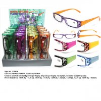 Crystal Speckles Plastic Readers