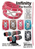 Infinity Wrap Bracelets Wholesale