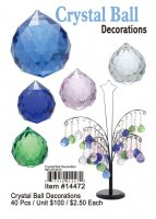 Crystal Ball Decorations Wholesale
